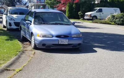 1996 Ford Contour Donated to Cyrus Center Chilliwack
