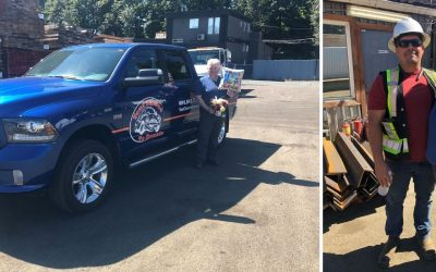 Fraser Valley Metal Recycling Provides Truck To Support Vehicle Donation Charity Work