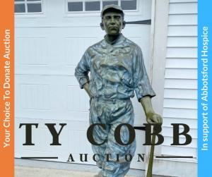Ty Cobb Auction Photo