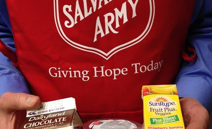 Salvation Army Chilliwack, Giving Hope Today