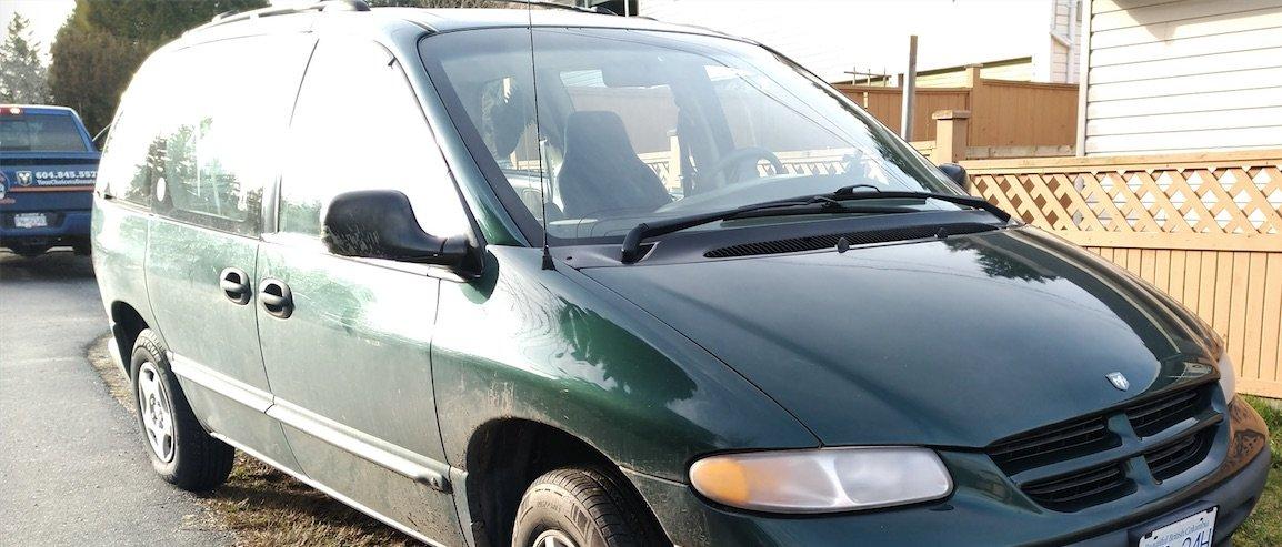 1997 Dodge Caravan Donated to Maple Ridge SPCA Charity