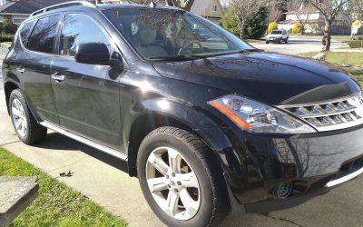Surrey Man Donates Black Nissan Murano To Adult Teen Challenge