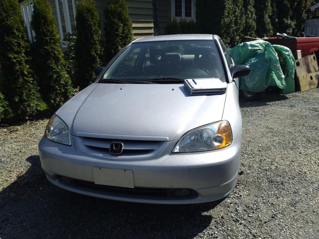 Donated 2001 Honda Civic