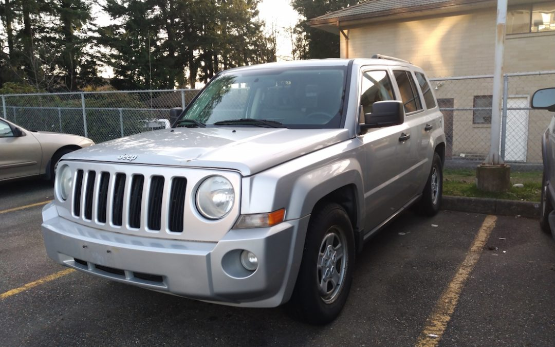 2007 Jeep Patriot Donated To Little Foot Rescue in Abbotsford