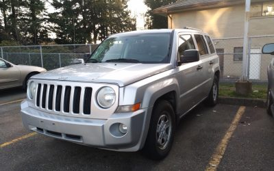 2007 Jeep Patriot Donated To Little Foot Rescue