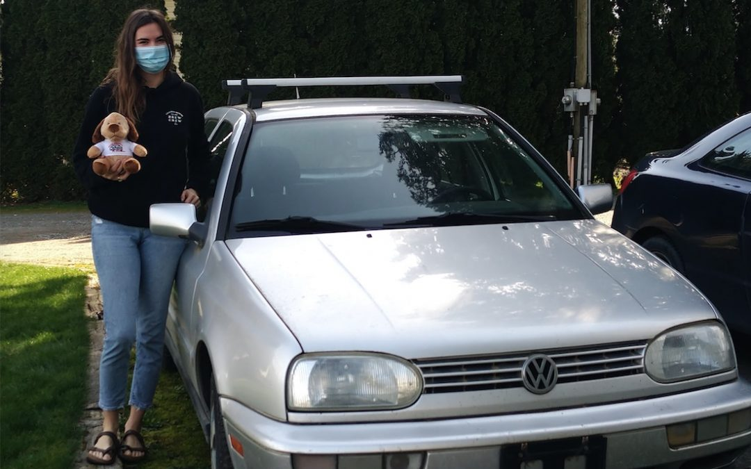 Donated Vehicle, 1998 VW Golf Sierra