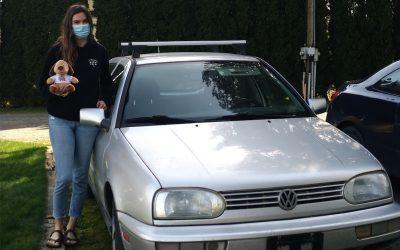 Sierra Donates Her 1998 Volkswagen Golf To Support The Work Of Teen Challenge