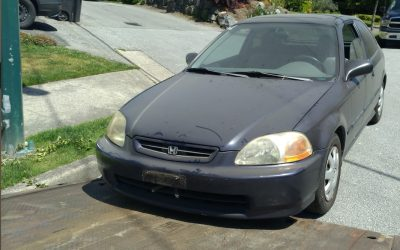 Michael From Vancouver Donates 1997 Honda Civic to the Vancouver SPCA