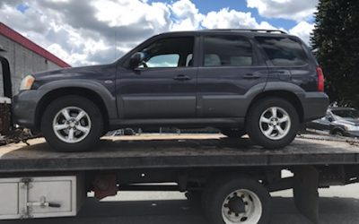 St. Joseph's Food Bank in Mission Receives 2006 Mazda Tribute Vehicle Donation