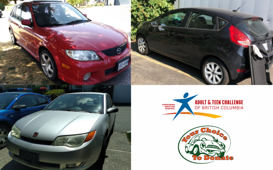 3 Vehicles donated to Adult & Teen Challenge of BC charity