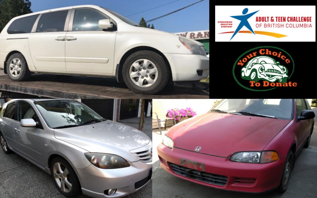 Ben & Melissa, Heath & Jacki Donate Vehicles To Adult & Teen Challenge BC Charity