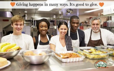 Giving Happens In Many Ways. What Is It About Giving That Is Good For Us?