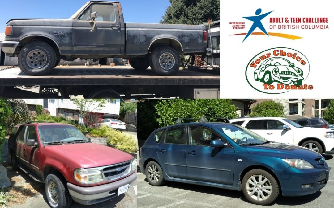 George, Gertrude & Jason Donate Vehicles To Adult & Teen Challenge BC Charity