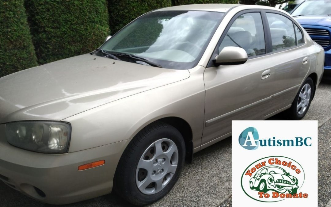 Photo of car donated by Garrett to AutismBC