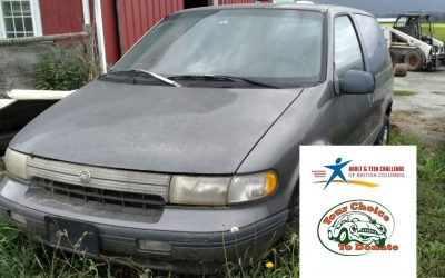Older Vehicle Used To Teach Kids To Drive Donated To The Work Of Teen Challenge