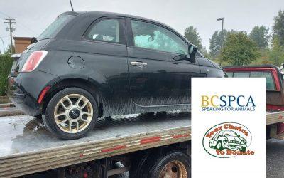Deidre From Langley Donates Vehicle to BC SPCA